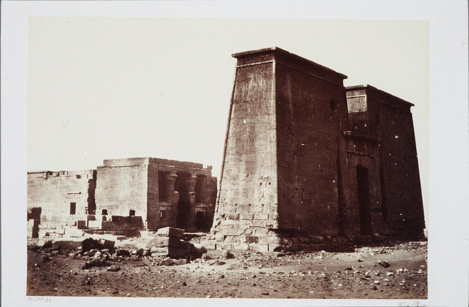 The Temple of Dakkeh- Nubia