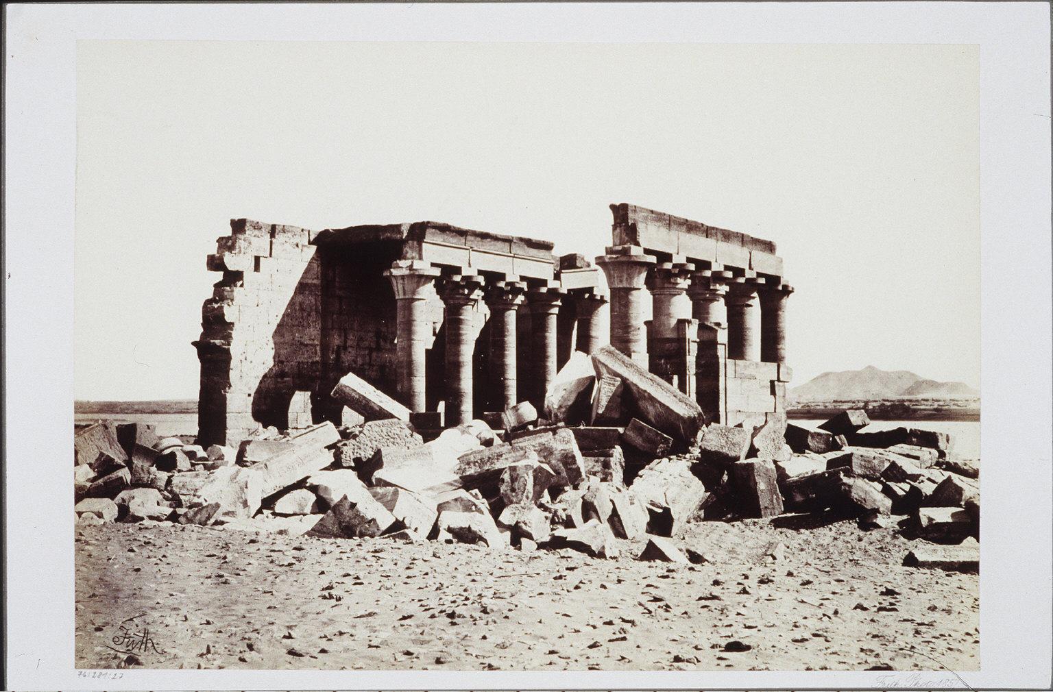 The Temple of Maharraka- Nubia