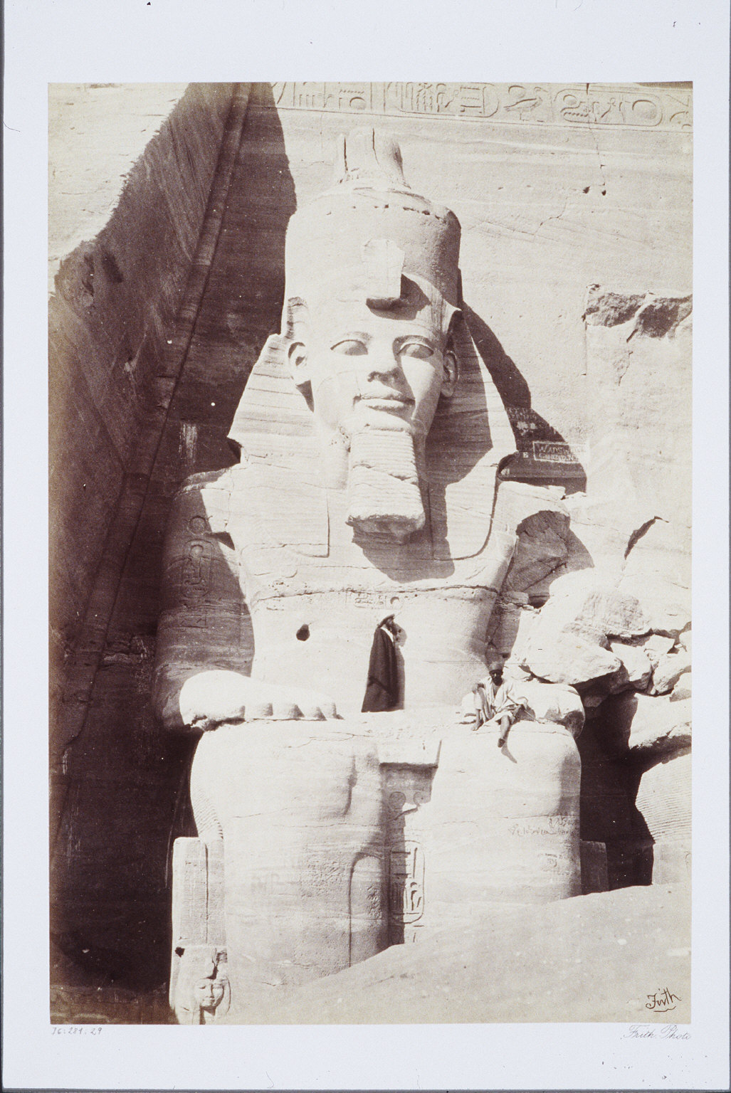 Colossal Figure at Abou Simbel- Nubia