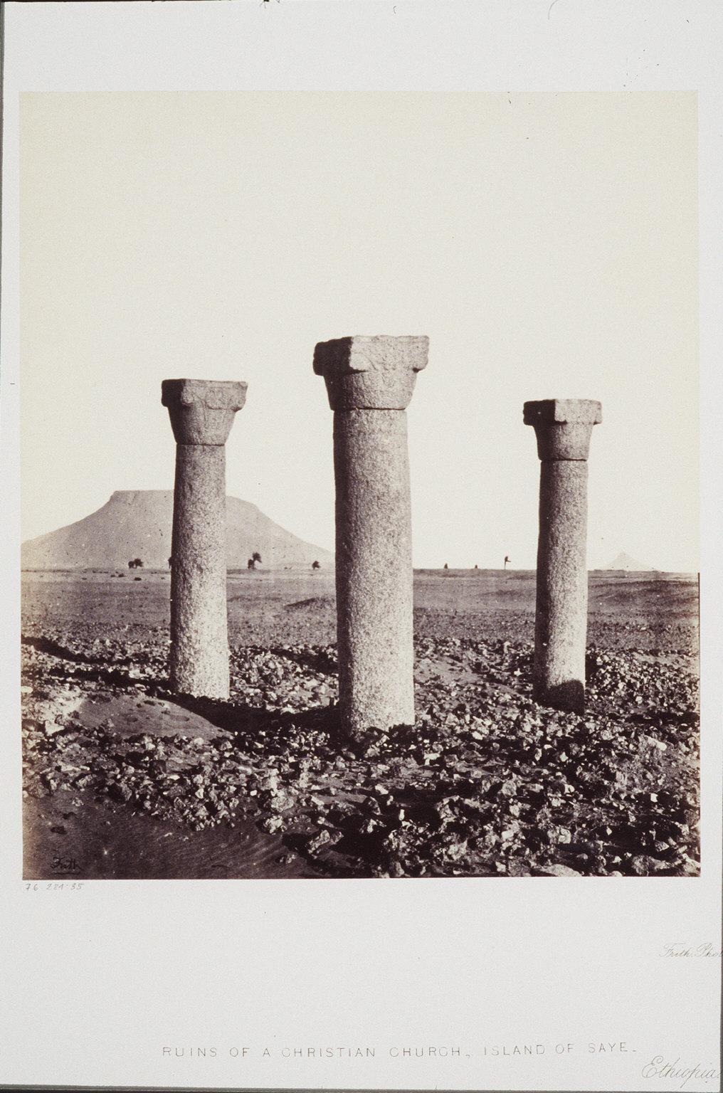 Ruins of a Chritstian Church, Island of Saye