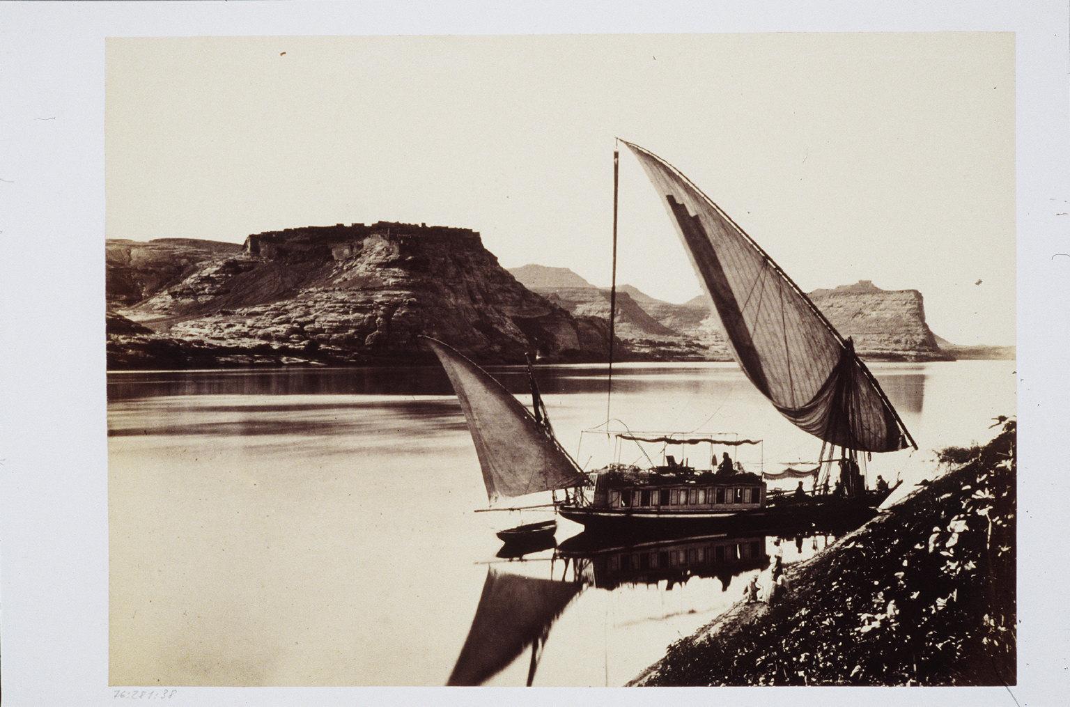 Travellers Boat at Ibrim