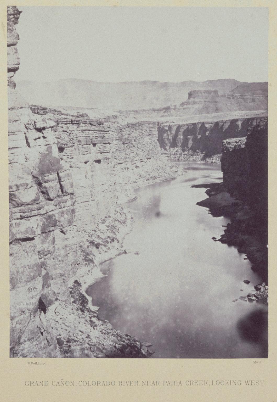 Grand Canon, Colorado River, Near Paria Creek, Looking West.