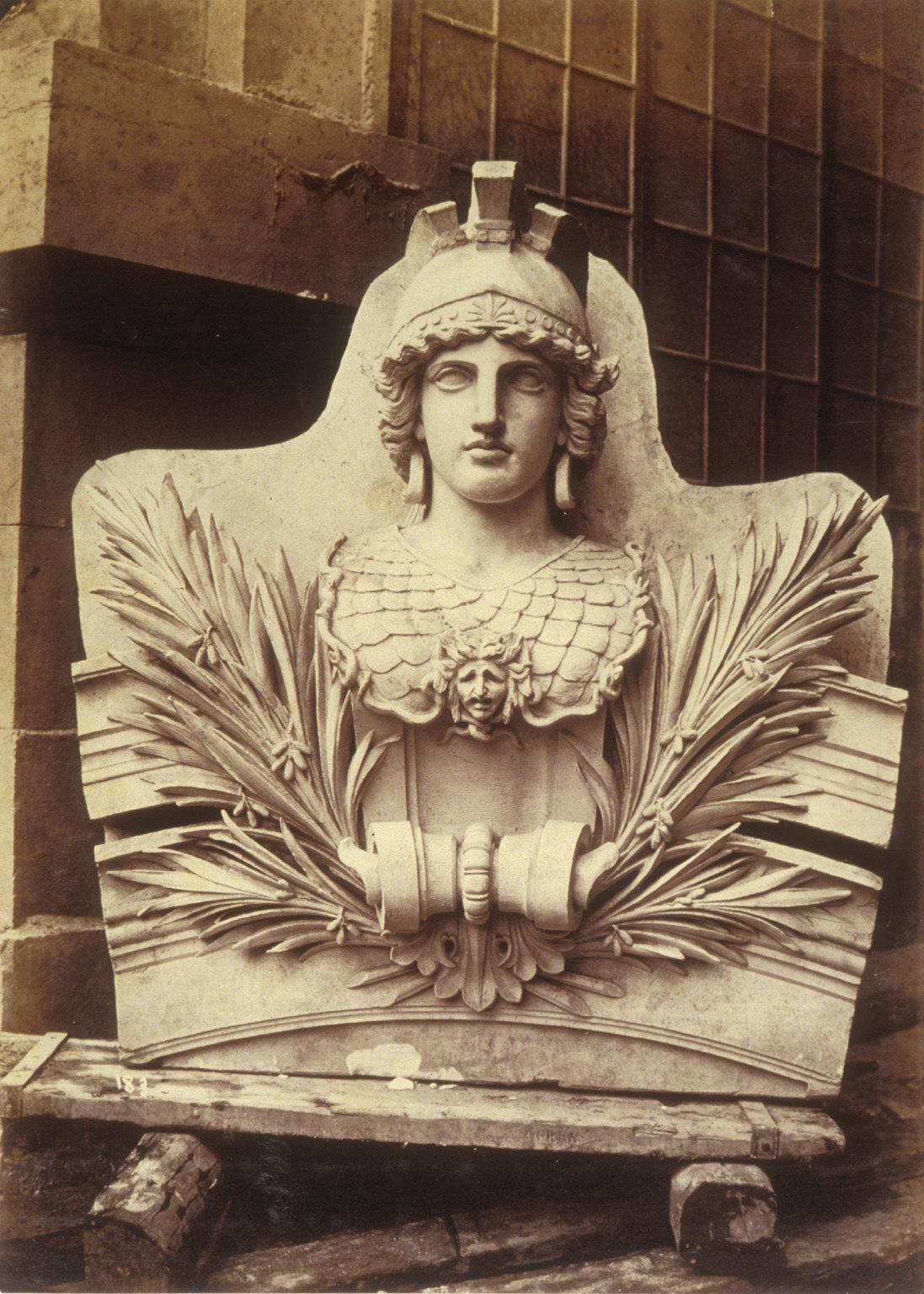 Stone sculpture, decoration for Paris Opera