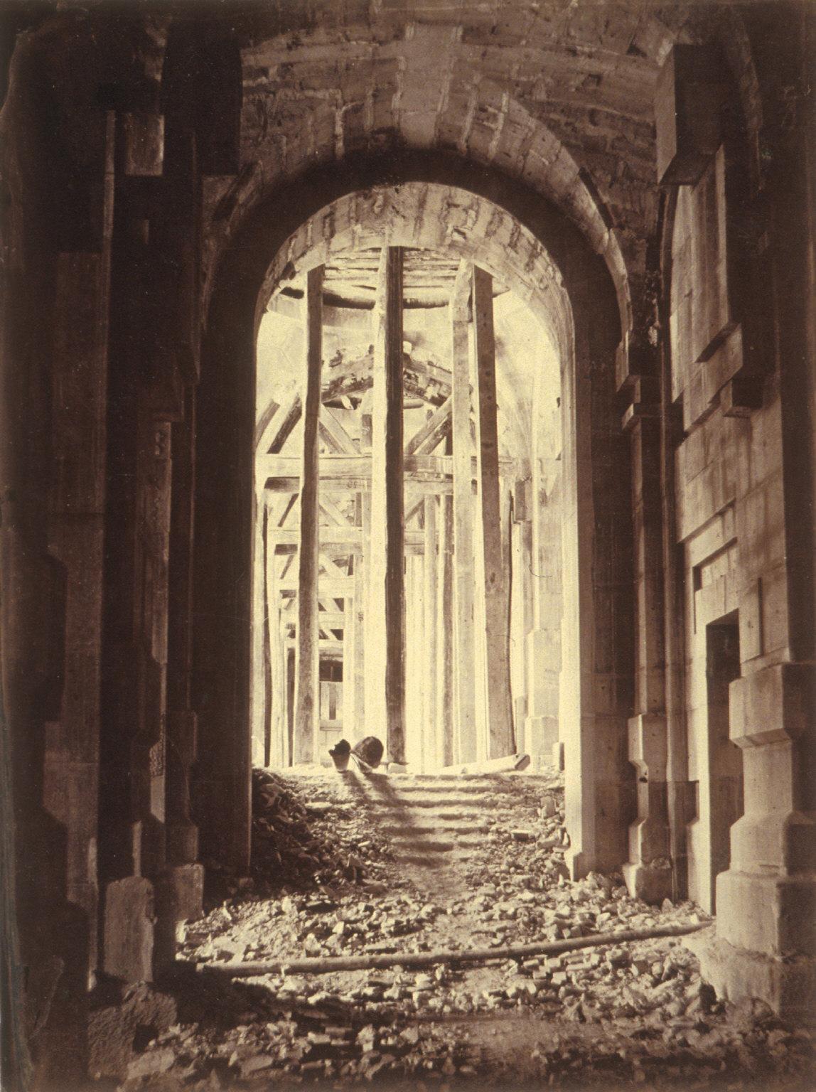 Interior construction, Paris Opera