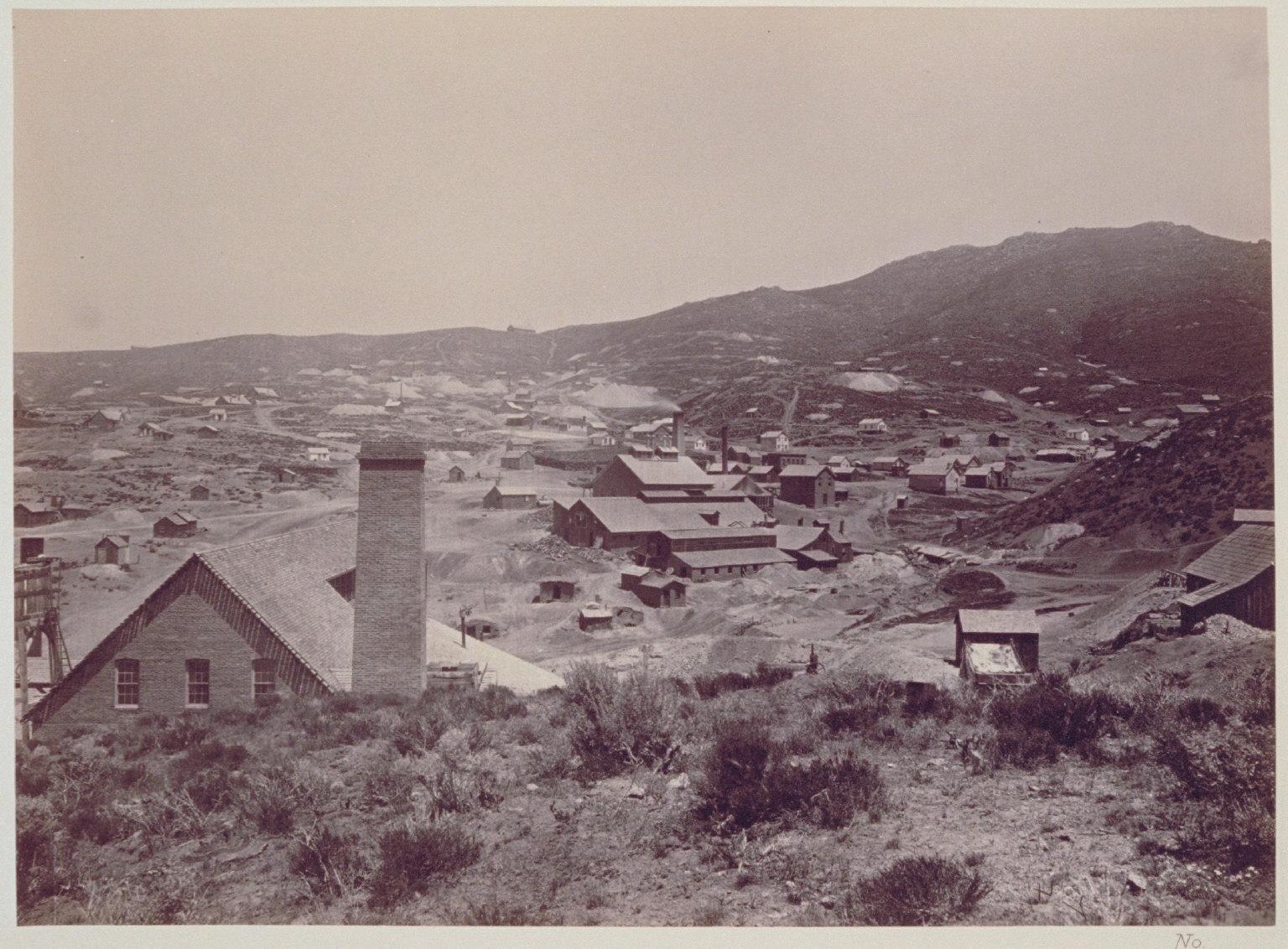 Austin- Lander Mill, Nevada.
