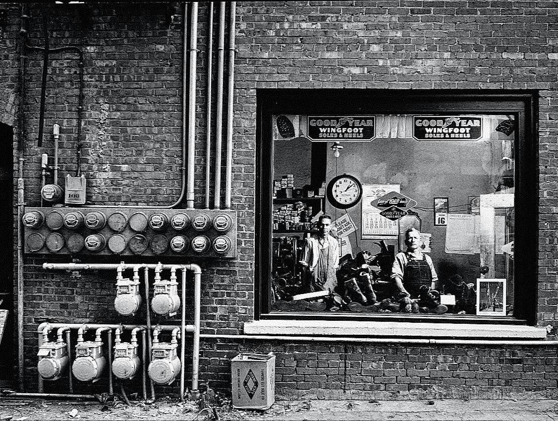Shoe Repair Shop, Cushing, Oklahoma
