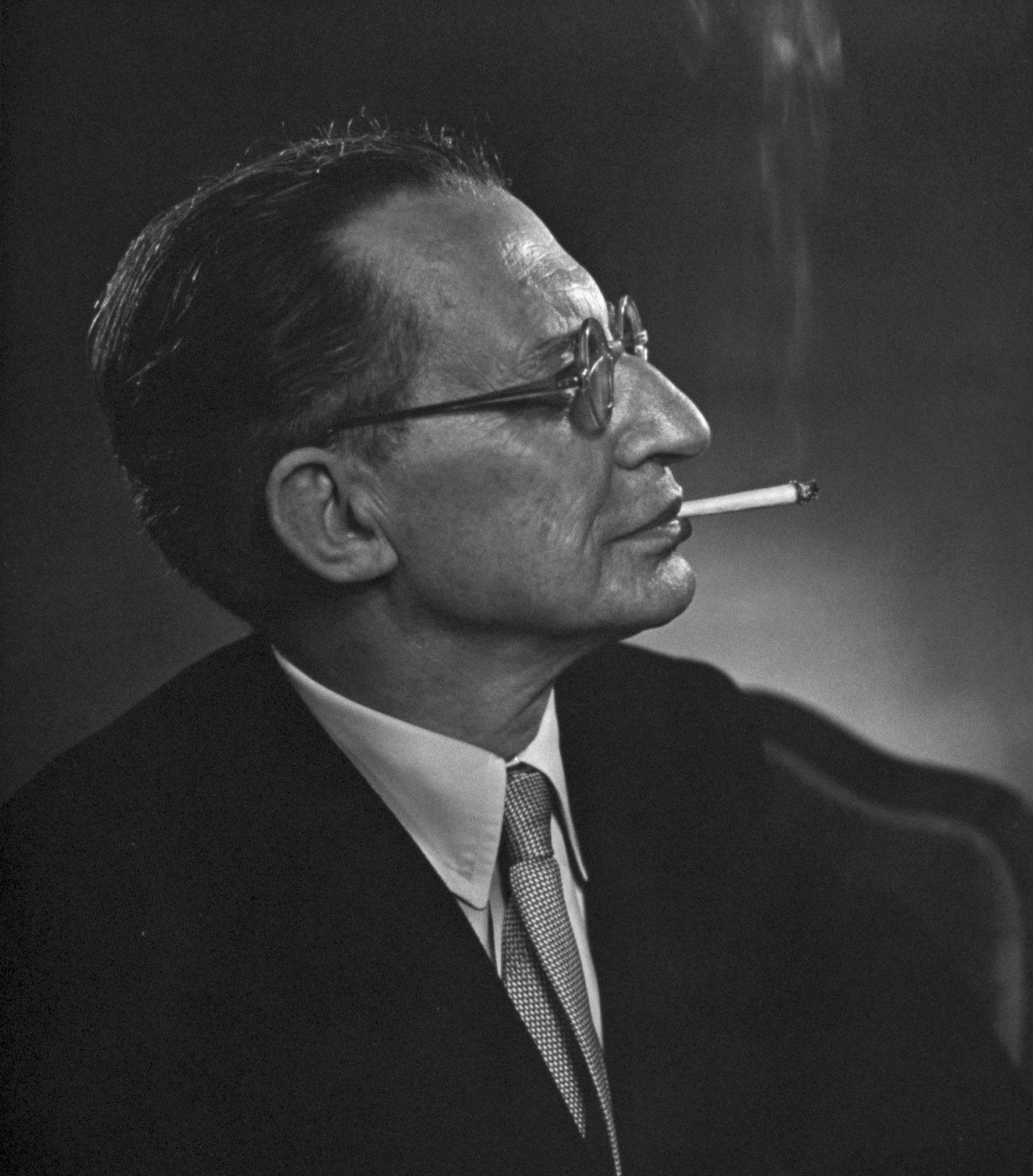 Prime Minister Alcide de Gasperi