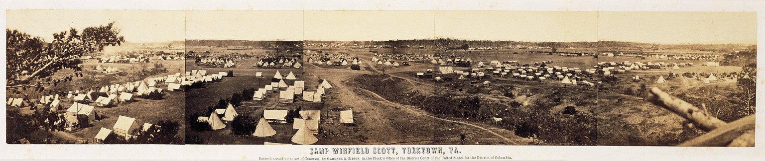 Camp Winfield Scott, Yorktown, VA.