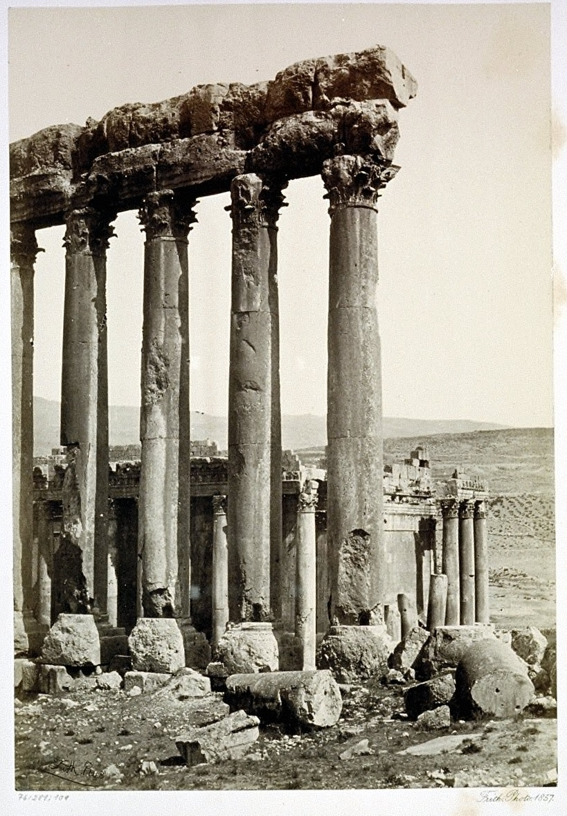 The Great Pillars and Smaller Temple, Baalbec