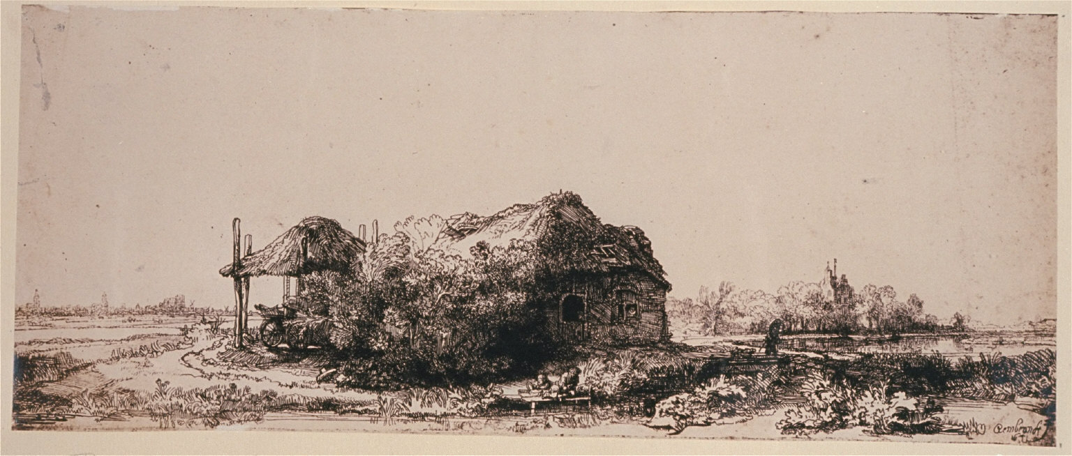 Copy of a Rembrandt Etching