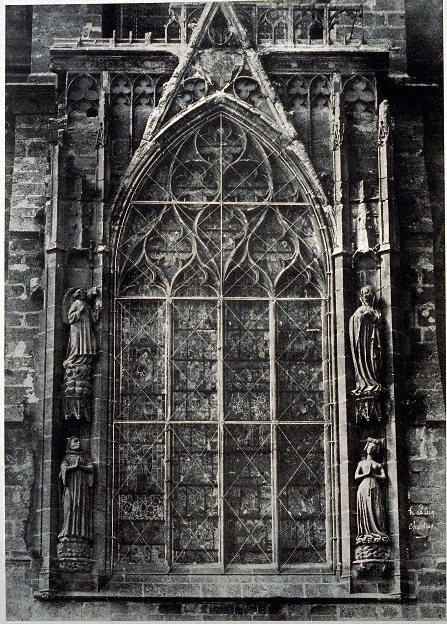 Chartres Cathedral, detail, window