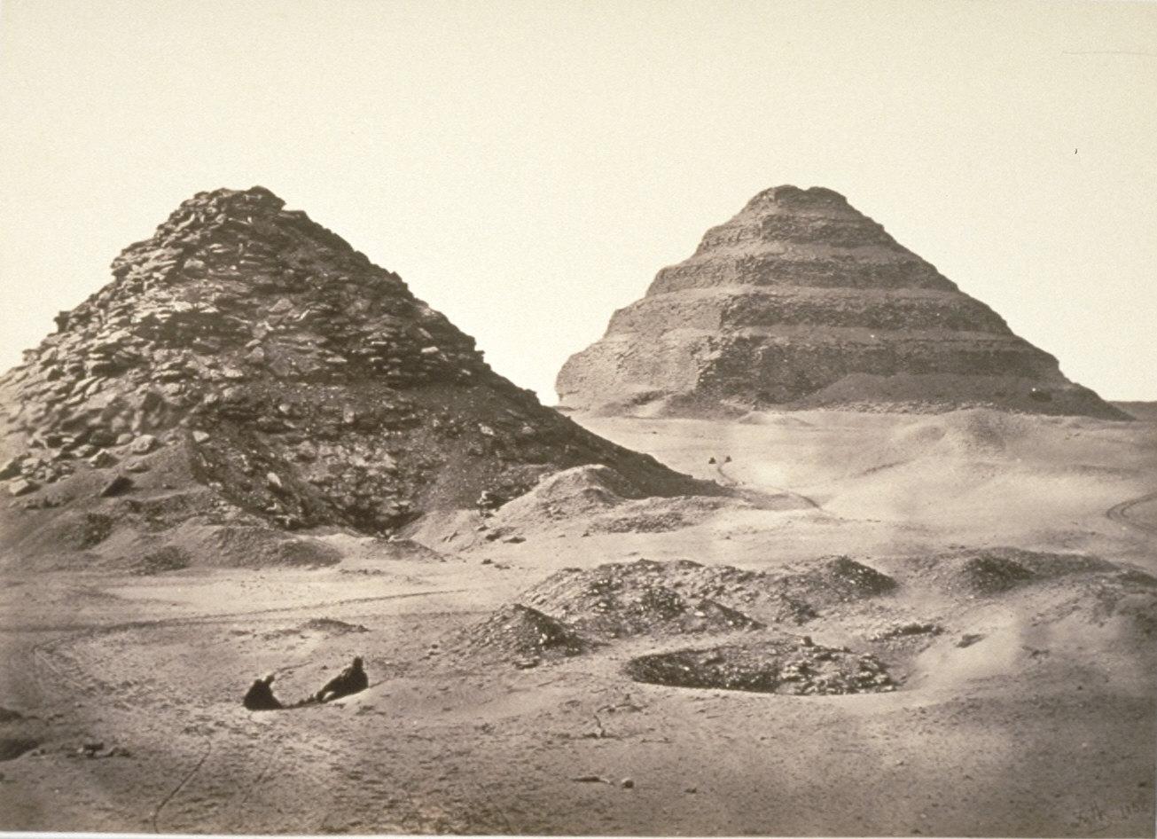 The Pyramids of Sakkarah