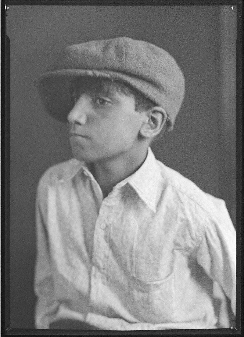 Portrait of Boy with Cap