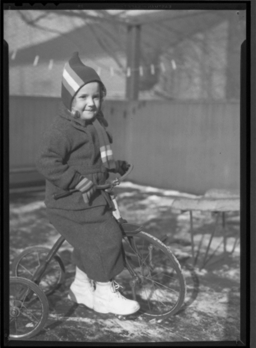 Child on Tricycle