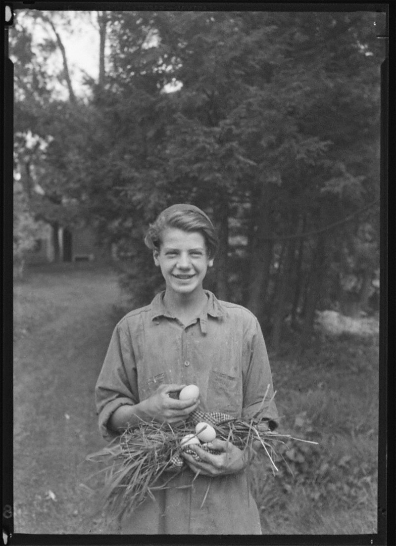 Boy with Eggs