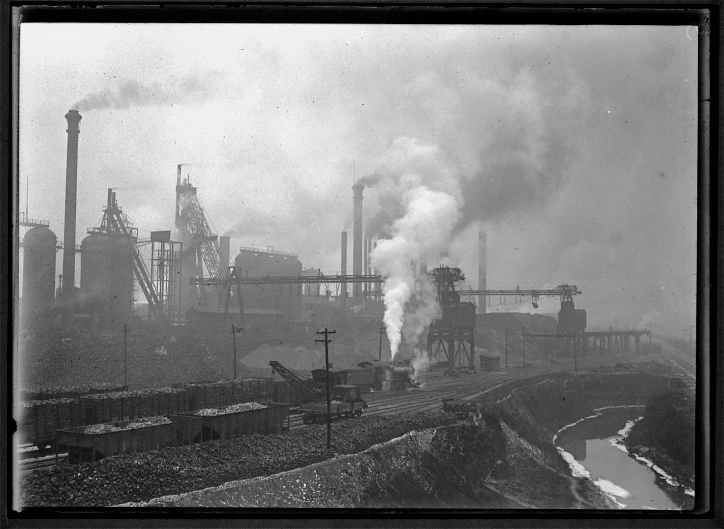 Smoke Means Prosperity in Steel Pgh 1909