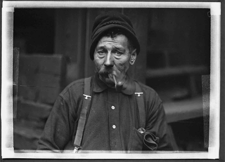 Irish Steel Worker-1908