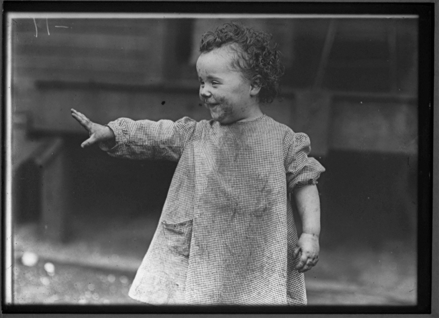 No Soap, Pittsburgh Steel Worker Child 1909
