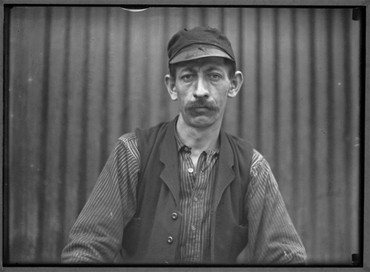 German Steel Worker Pittsburgh PA
