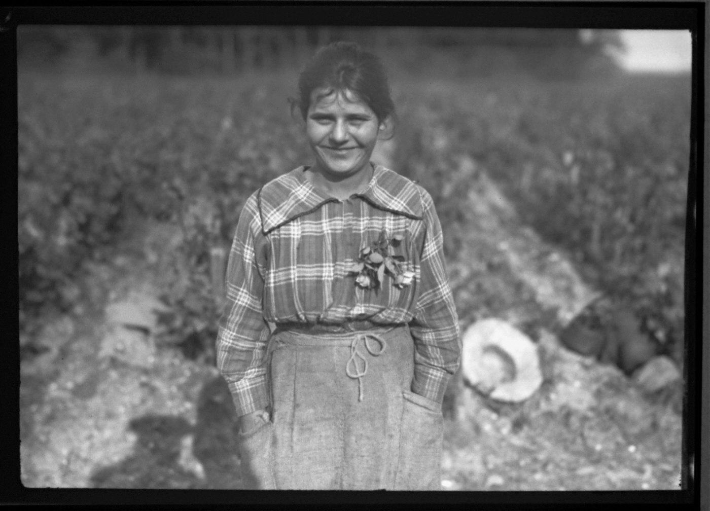 Near Bordeaux Vineyard Worker