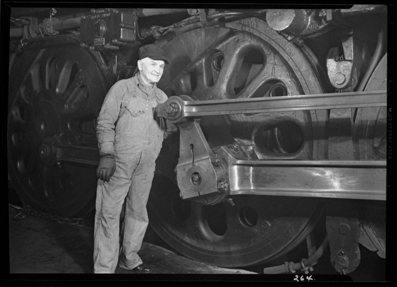 Bob Butterfield Standing Near Engine/Made For Fortune