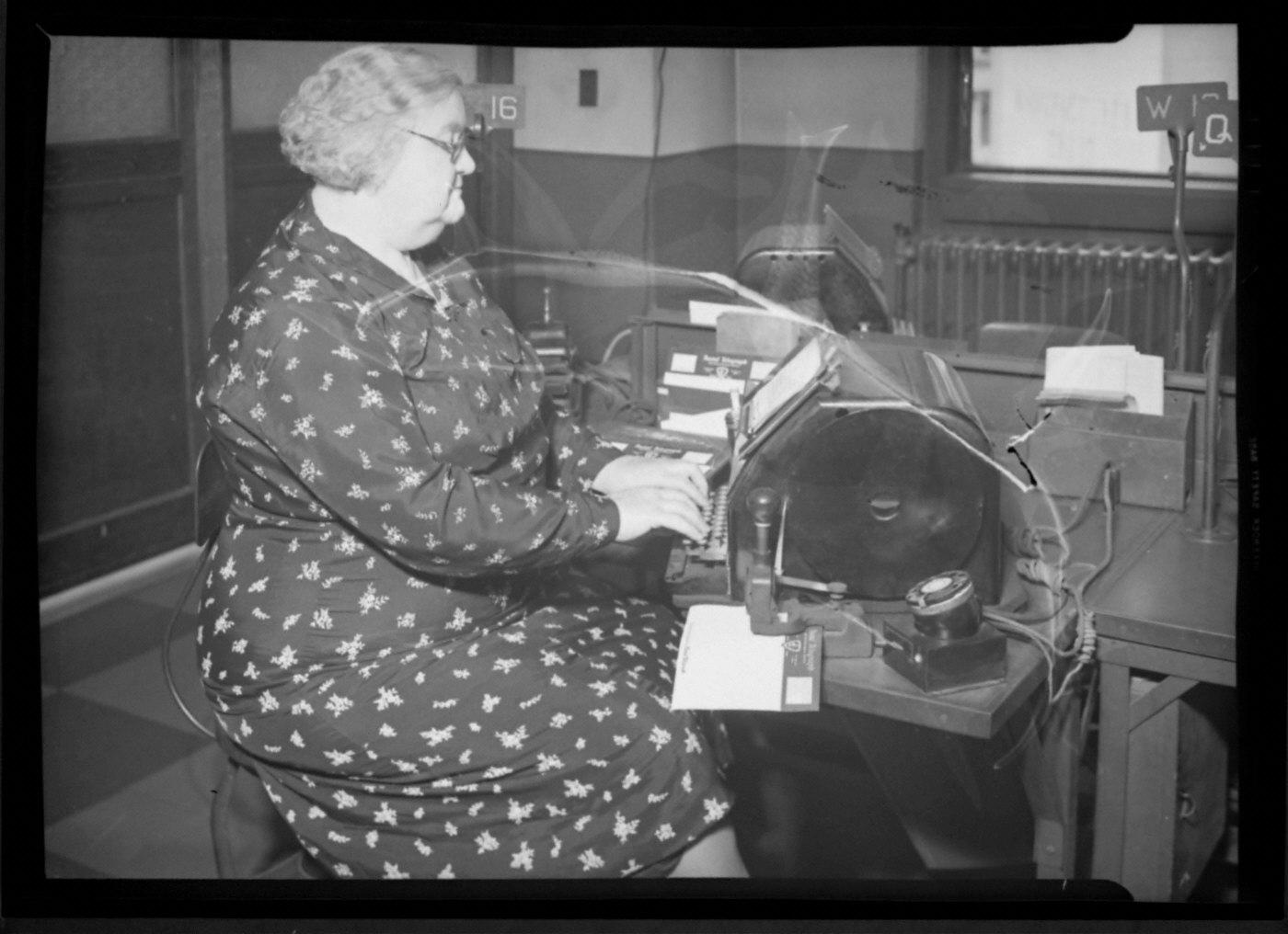 Florence McLaughlin Telegraph Operator...Telegraph...