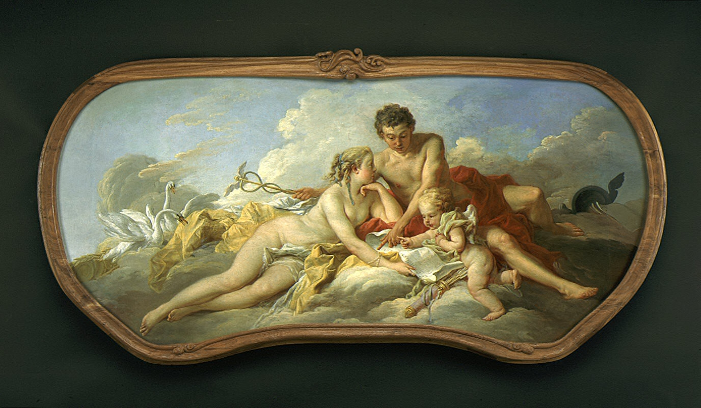 Venus and Mercury Instructing Cupid