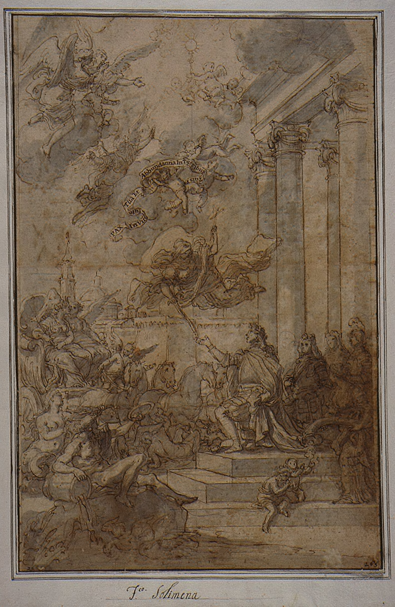 Allegory of the Entry of Charles Bourbon into Naples