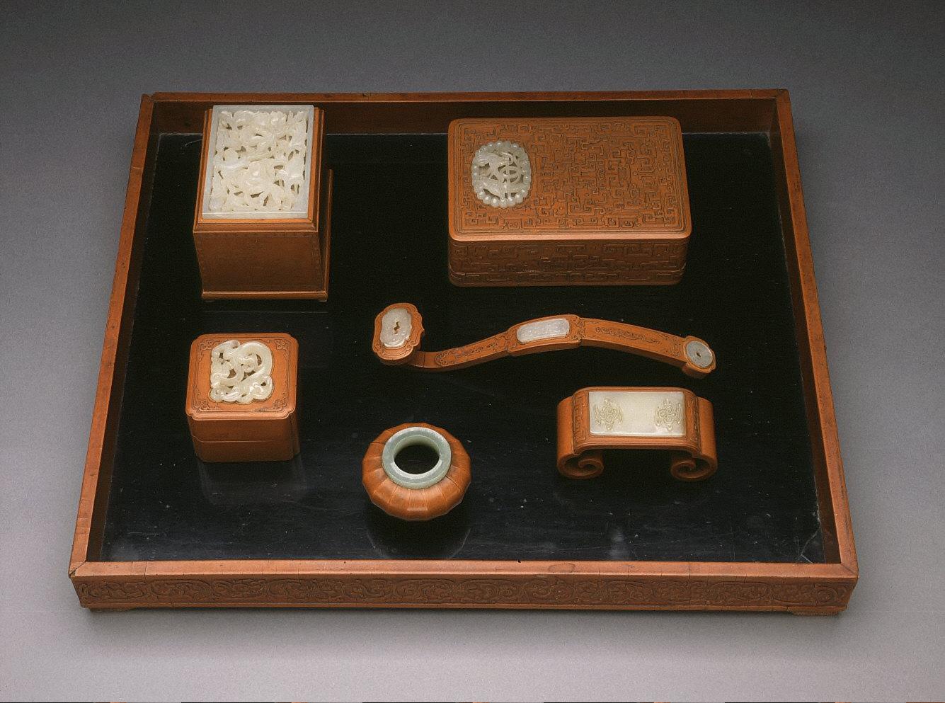 Desk Set (Wenfang Wanbao)
