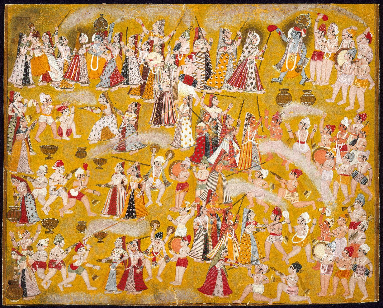 Spring Festival in Brindavan