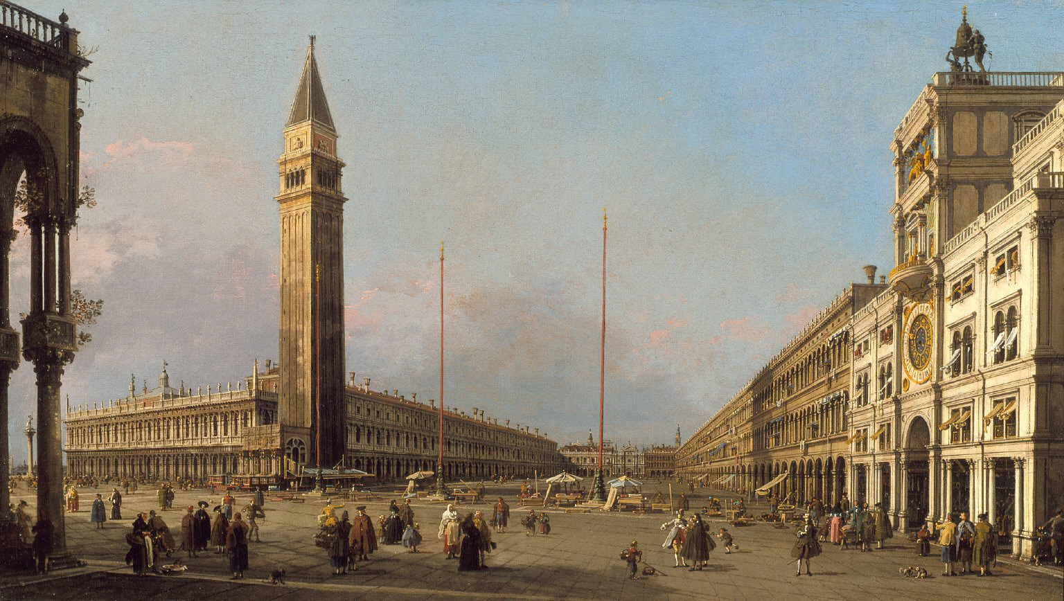 Piazza San Marco Looking South and West