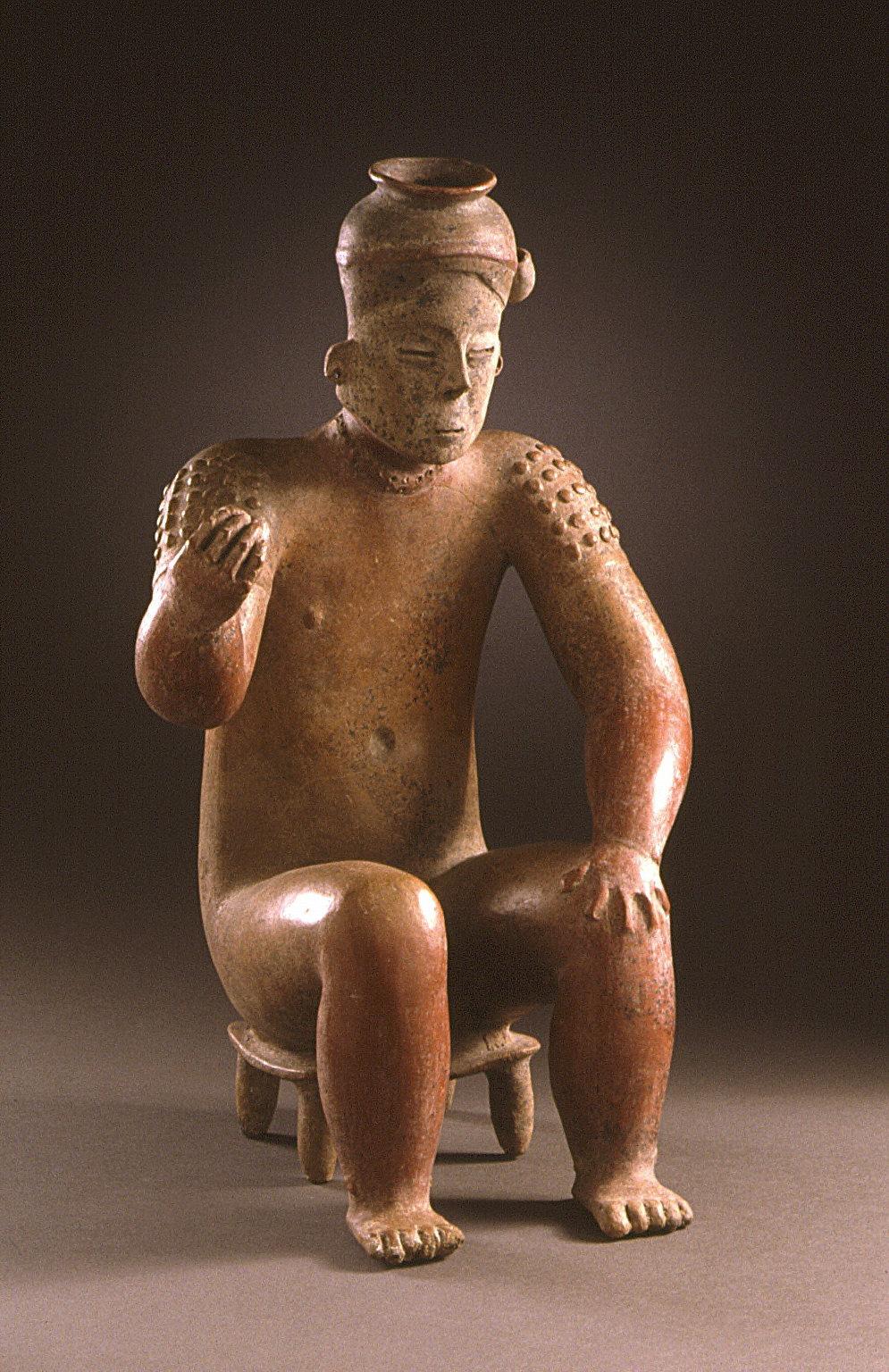 Seated Male Figure