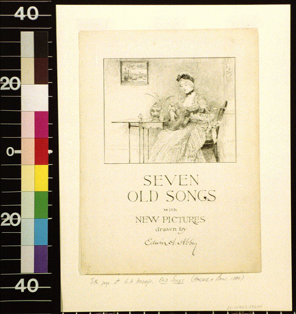 Seven old songs with new pictures