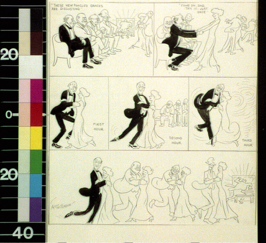 The fascinating lure of the ragtime dance