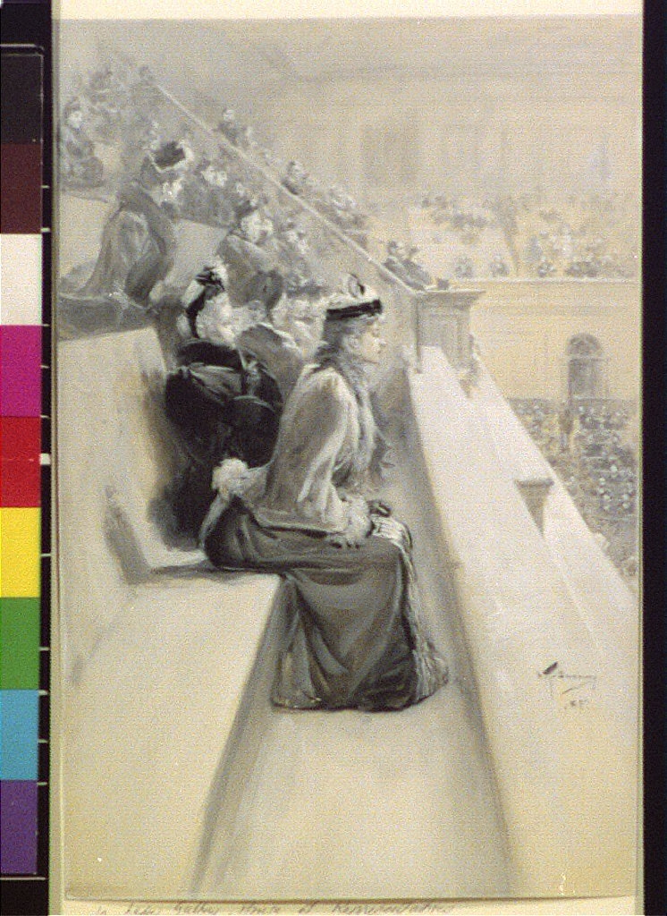 In the ladies' gallery, House of Representatives] 35:1017 (Dec. 19, 1891)