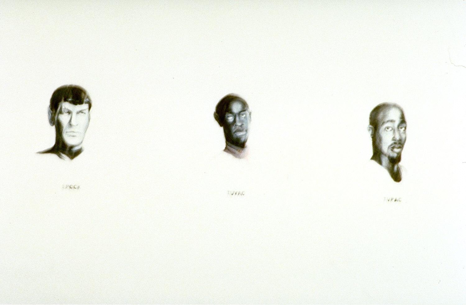 Spock, Tuvac, Tupac
