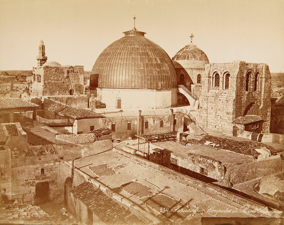 Coupoles du Saint-Sepulcre, Jerusalem