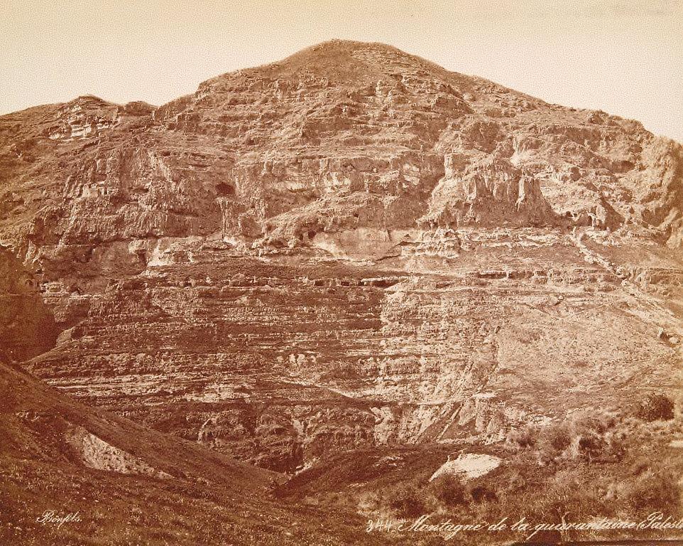 Montagne de la quarantaine, Palestine