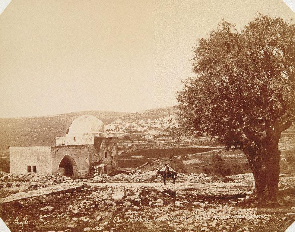 Tombeau de Rachel, près de Bethlehem, Palestine