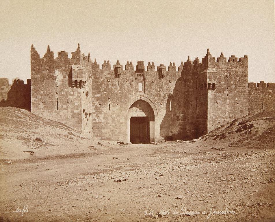 Porte de Damas à Jerusalem