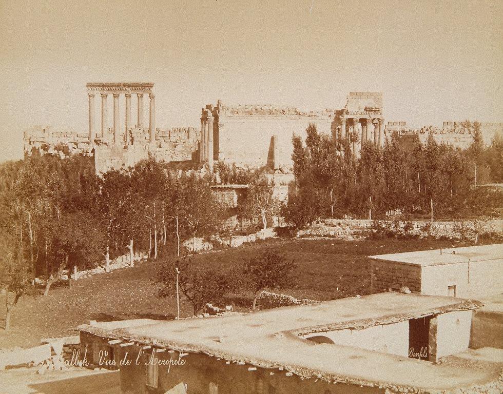 Vue de l'Acropole, Balbek