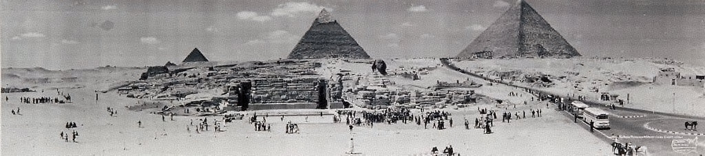 The Great Pyramids and Sphinx, Cairo, Egypt