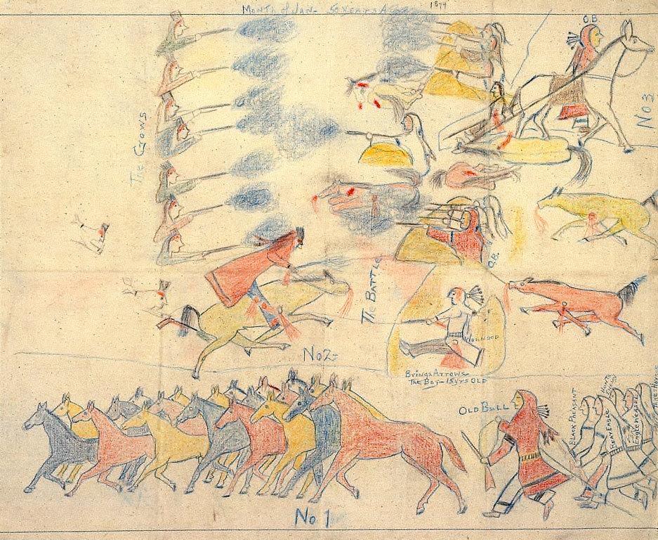 Winter Horse Raiding Episode