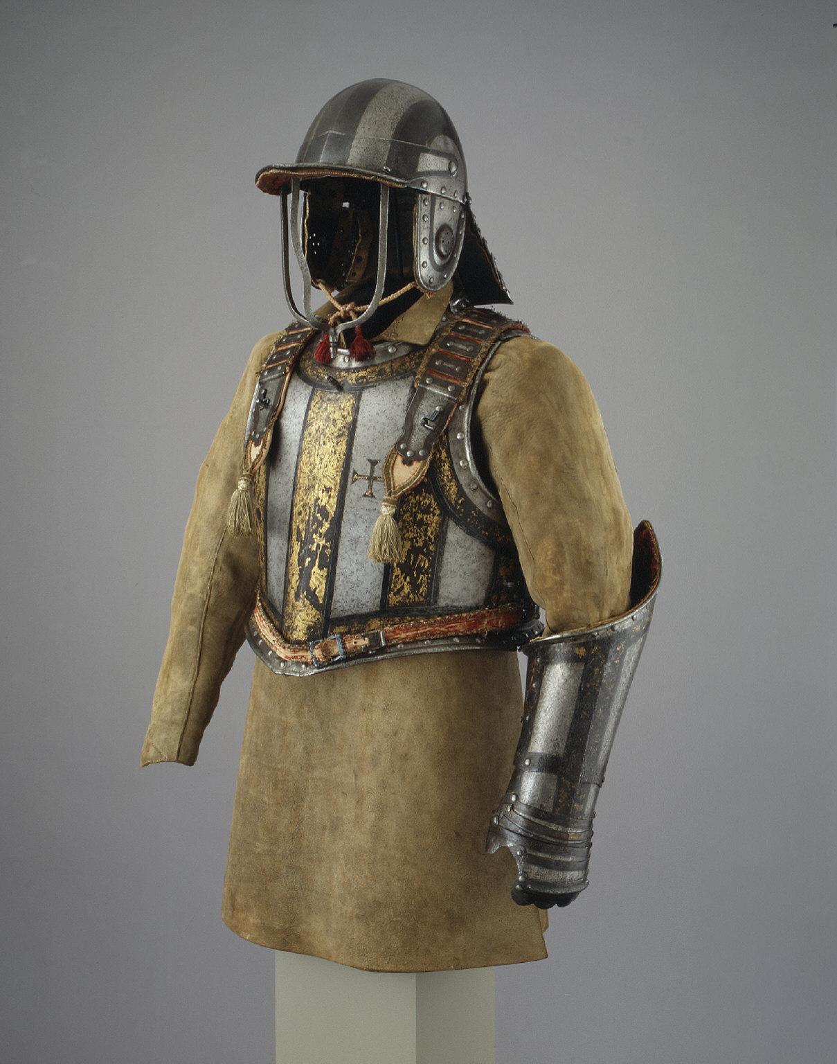 Harquebus Armor of Pedro II, King of Portugal