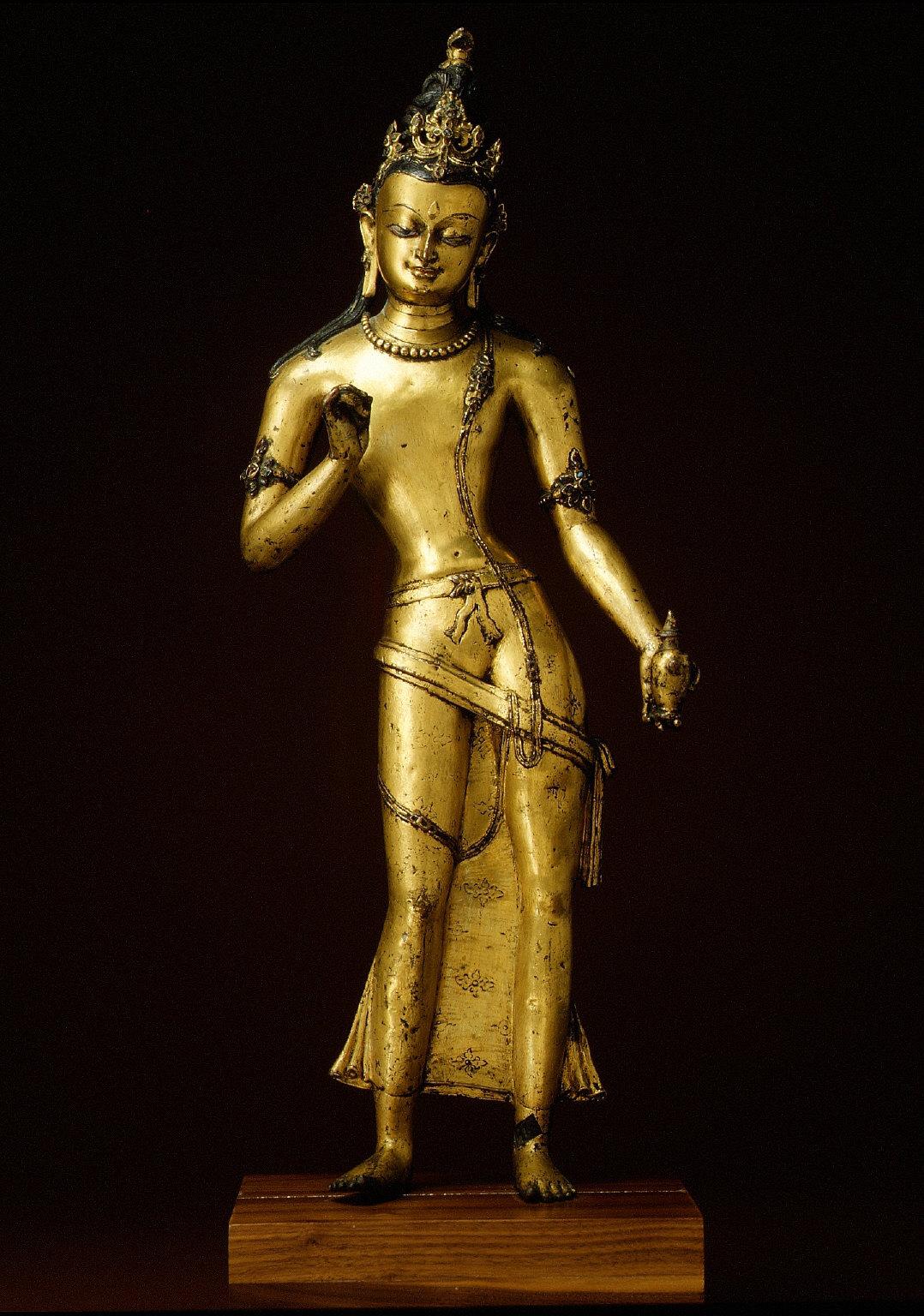Standing Bodhisattva Maitreya (The Bodhisattva of the Future)