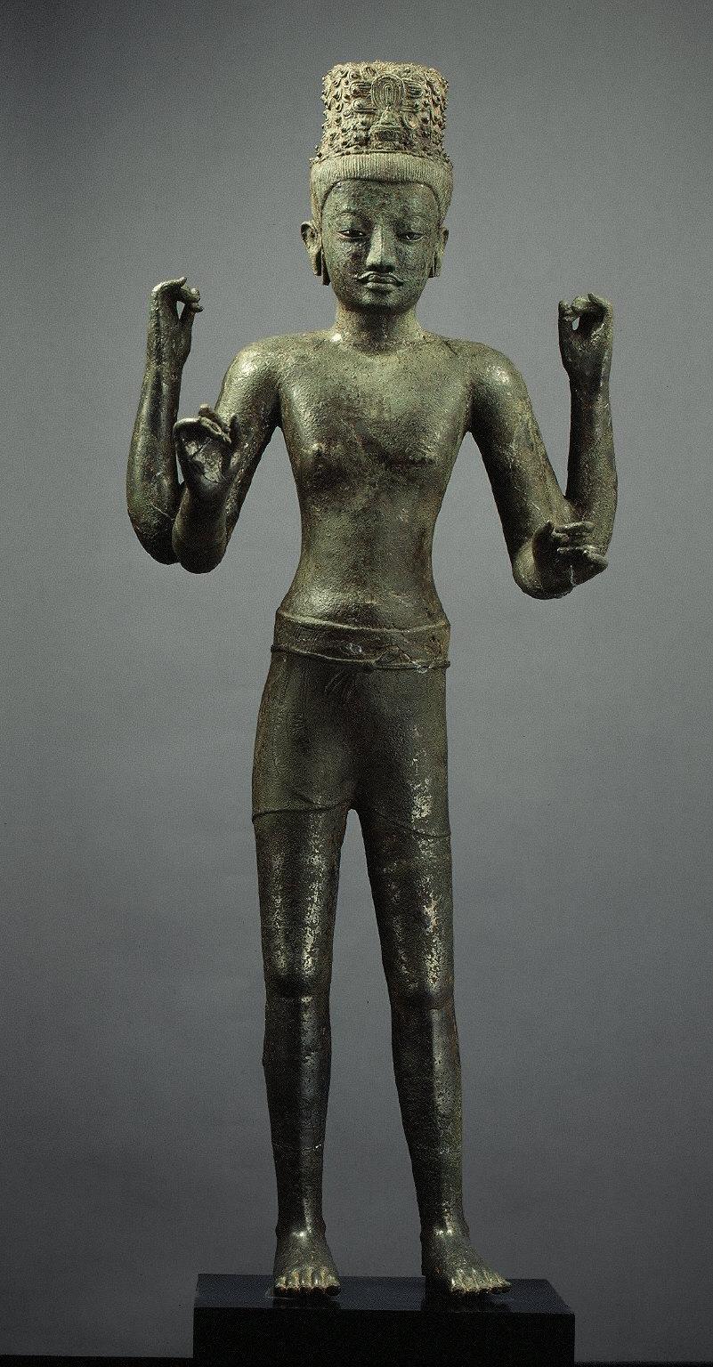 Four-armed Avalokiteshvara (The Bodhisattva of Infinite Compassion)