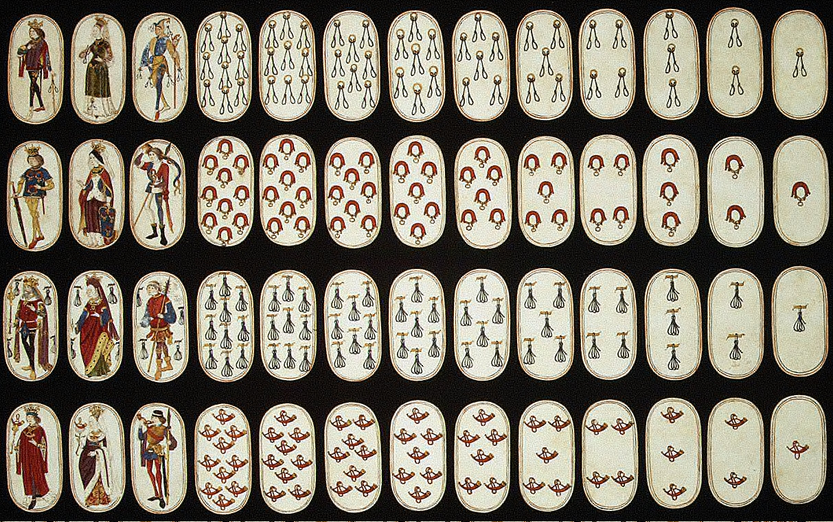 Set of Fifty-Two Playing Cards