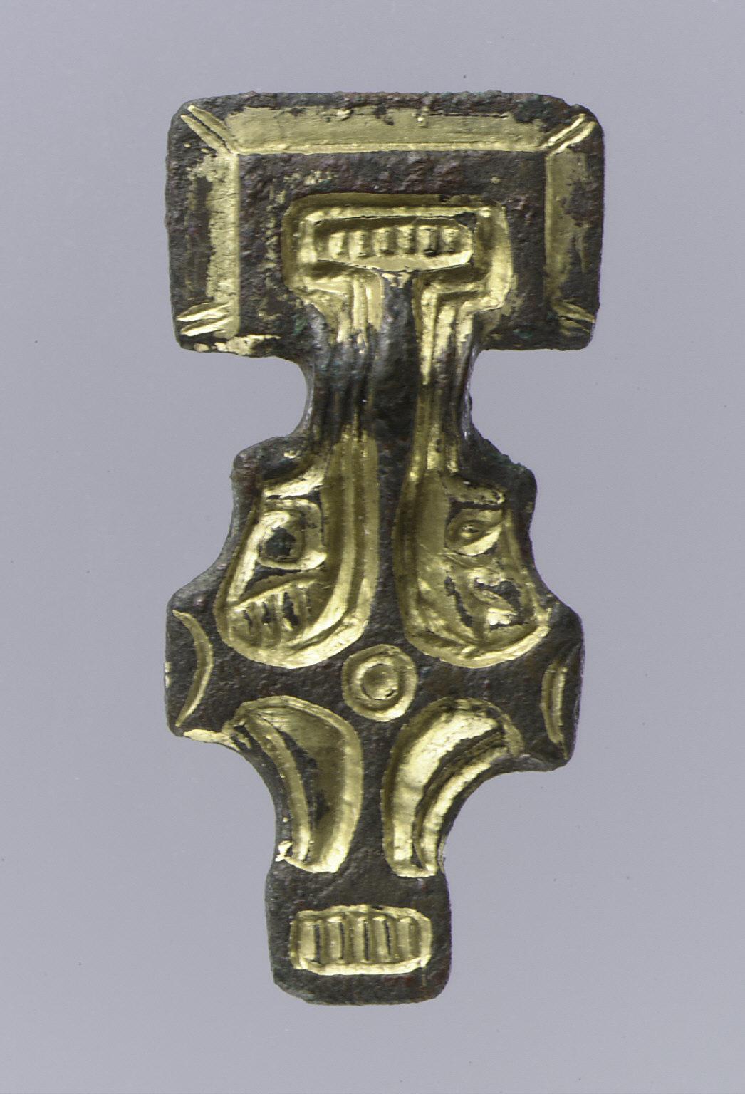 Miniature Square-Headed Brooch
