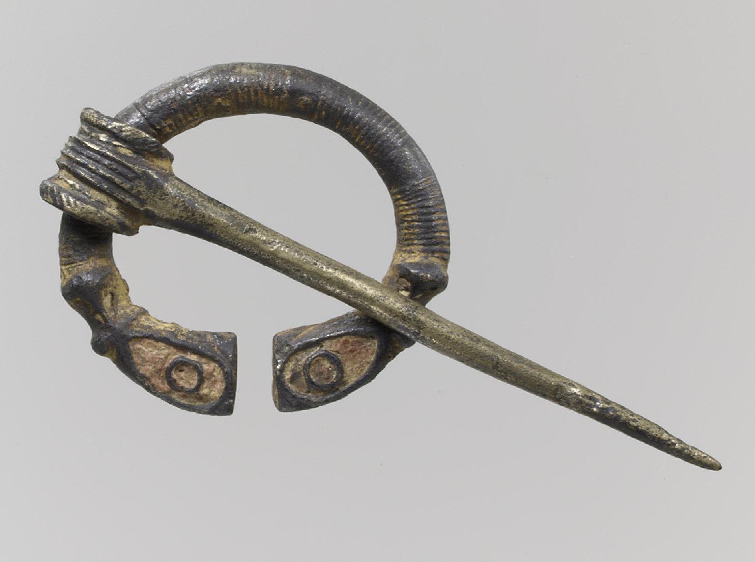 Open Ring Brooch