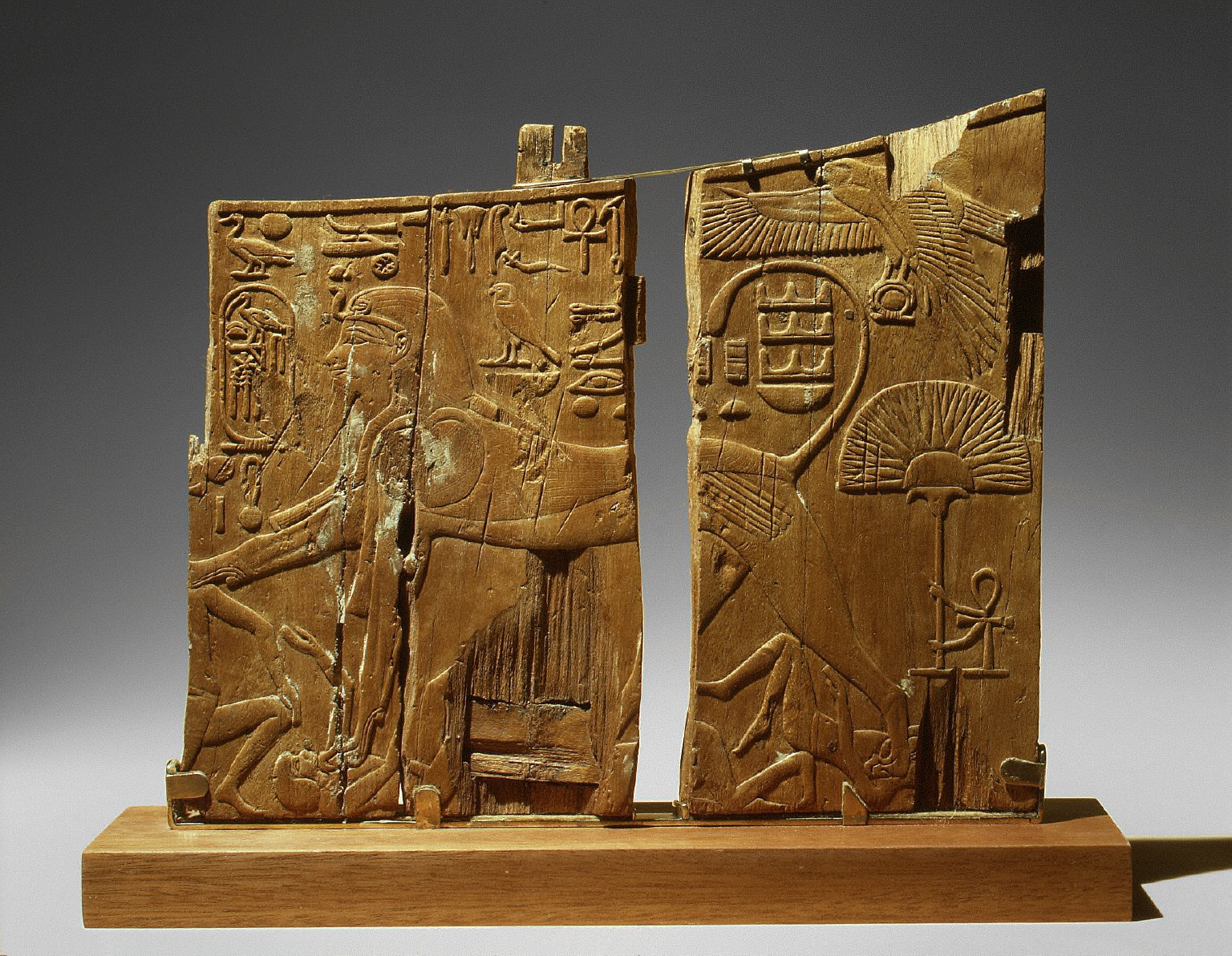 Arm Panel from a Ceremonial Chair